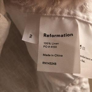 Reformation Tops - Reformation Luisa Top
